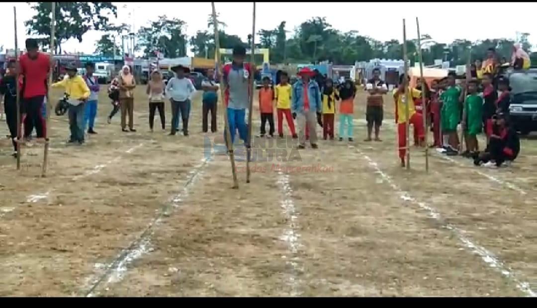 Pencak Silat Dan Permainan Tradisional Tampil Di Festival Budaya Tua Buton Lentera Sultra