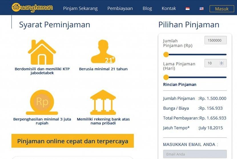 Daftar Pinjaman Online Langsung Cair Untuk Ibu Rumah ...